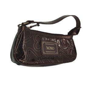 XOXO Dark Brown Shoulder Bag Purse